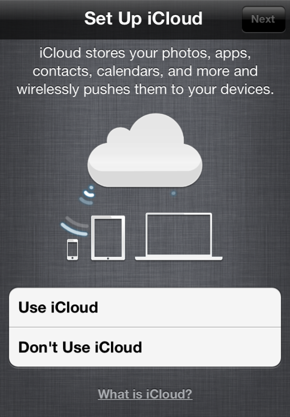 how to get rid of icloud on iphone 5
