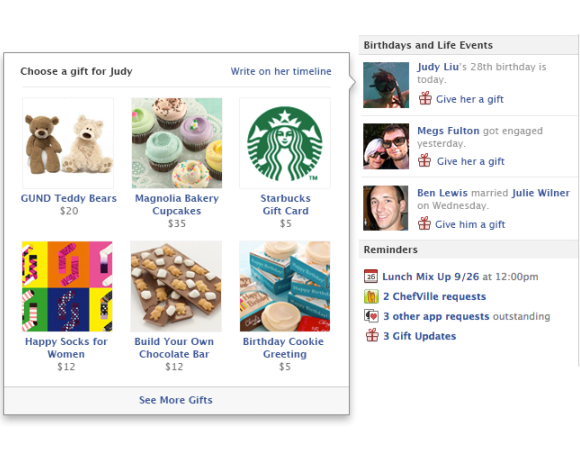 how to send birthday notifications to friends on facebook