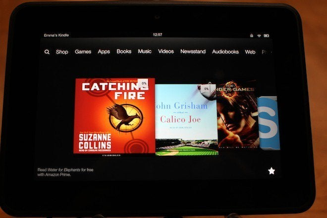 Amazon Kindle Fire HD: Hands on | PCWorld