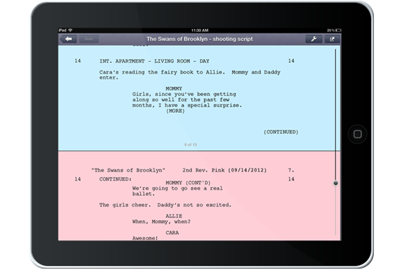 ipad screenwriting app reviews