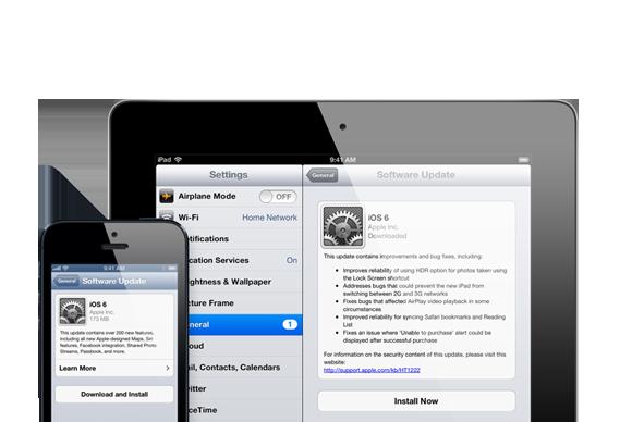 Hands on with iOS 6: Settings | Macworld