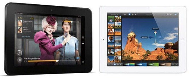 ipad, kindle fire