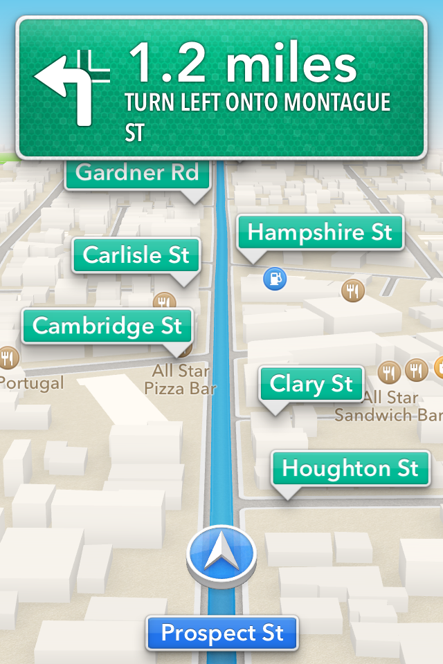 Review Refined iOS 6 highlighted by stunning Maps overhaul – Turn by Turn Maps