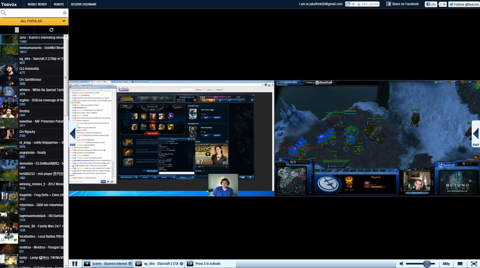 live stream pc