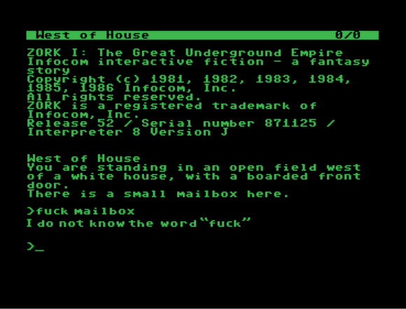 adult text adventure games