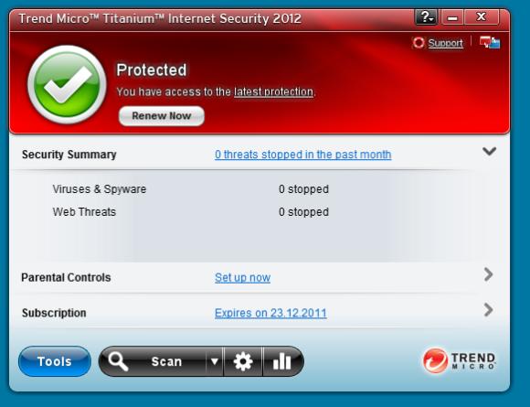 Trend Micro Titanium Internet Security 2012 Review: No-Frills PC