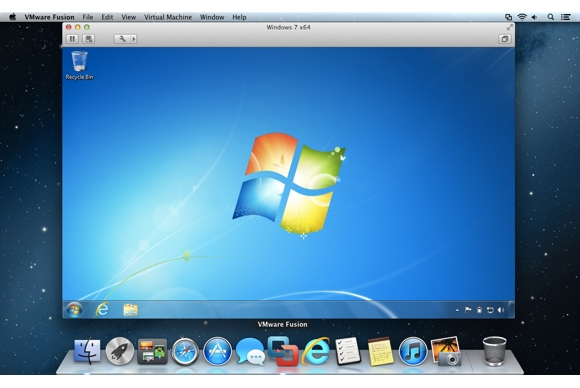 Running windows on a mac why i prefer vmware fusion for Raumgestaltung mac os x