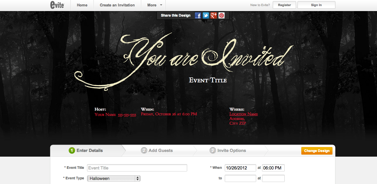 Halloween Online Invitations was awesome invitations layout
