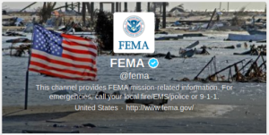 Federal Emergency Management Agency on Twitter