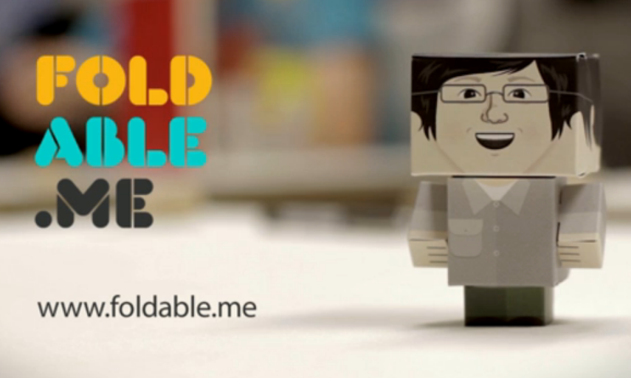 Create cardboard cutout figures with foldable me pcworld