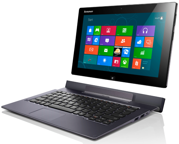 Lenovo Shows Off Windows 8 Gear Tablets Rt Convertible