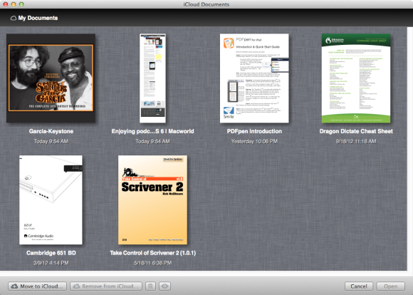How to share documents with iCloud   Macworld