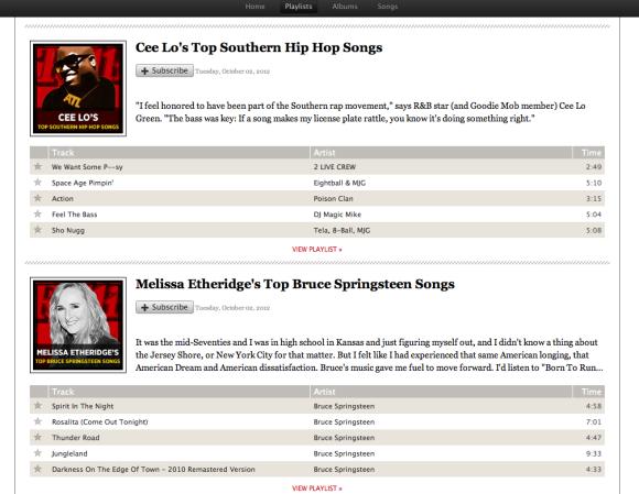 2012 Hip Hop Songs