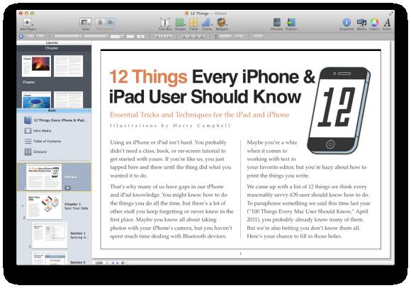 Hands-on with iBooks Author 2 0   Macworld