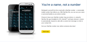 Sprint now offers the StarStar Me service from Zoove