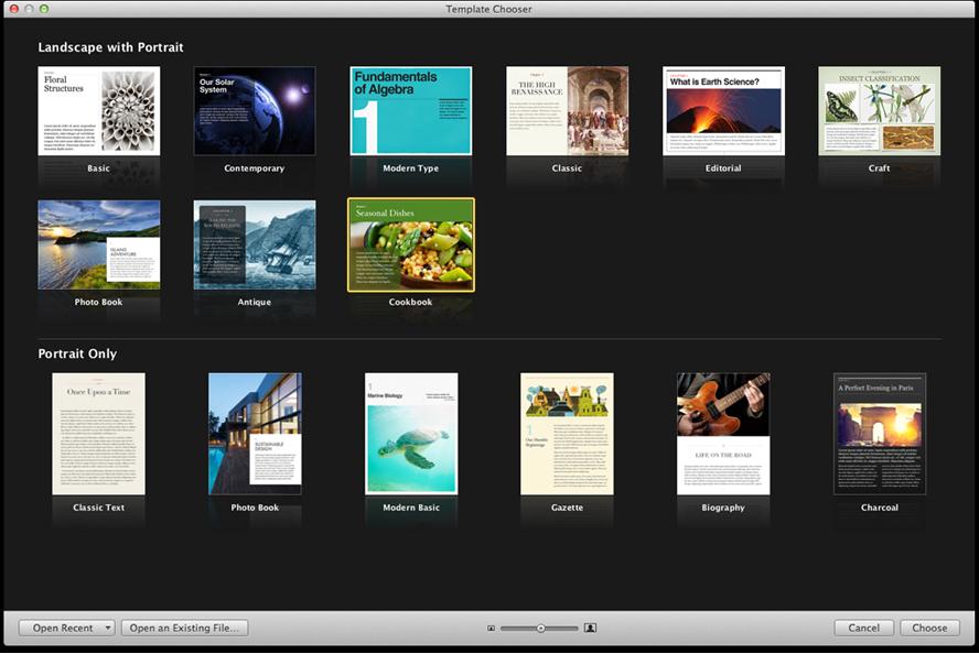 Apple reveals updated iBooks Author with portrait-orientation ...
