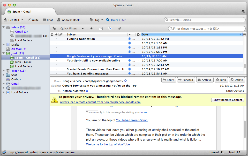 Review: Thunderbird mail client offers freedom ...