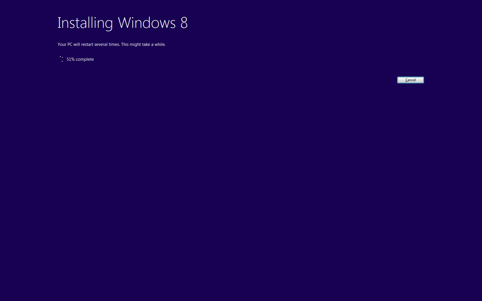 windows 8 upgrade install