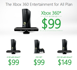 microsoft expands $99 xbox 360 deal; xbox rebirth coming