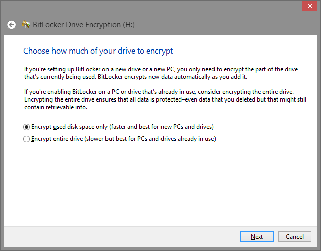 Lock and encode your flash drives with BitLocker to Go
