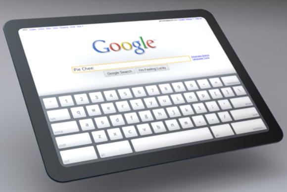 Google tablet concept