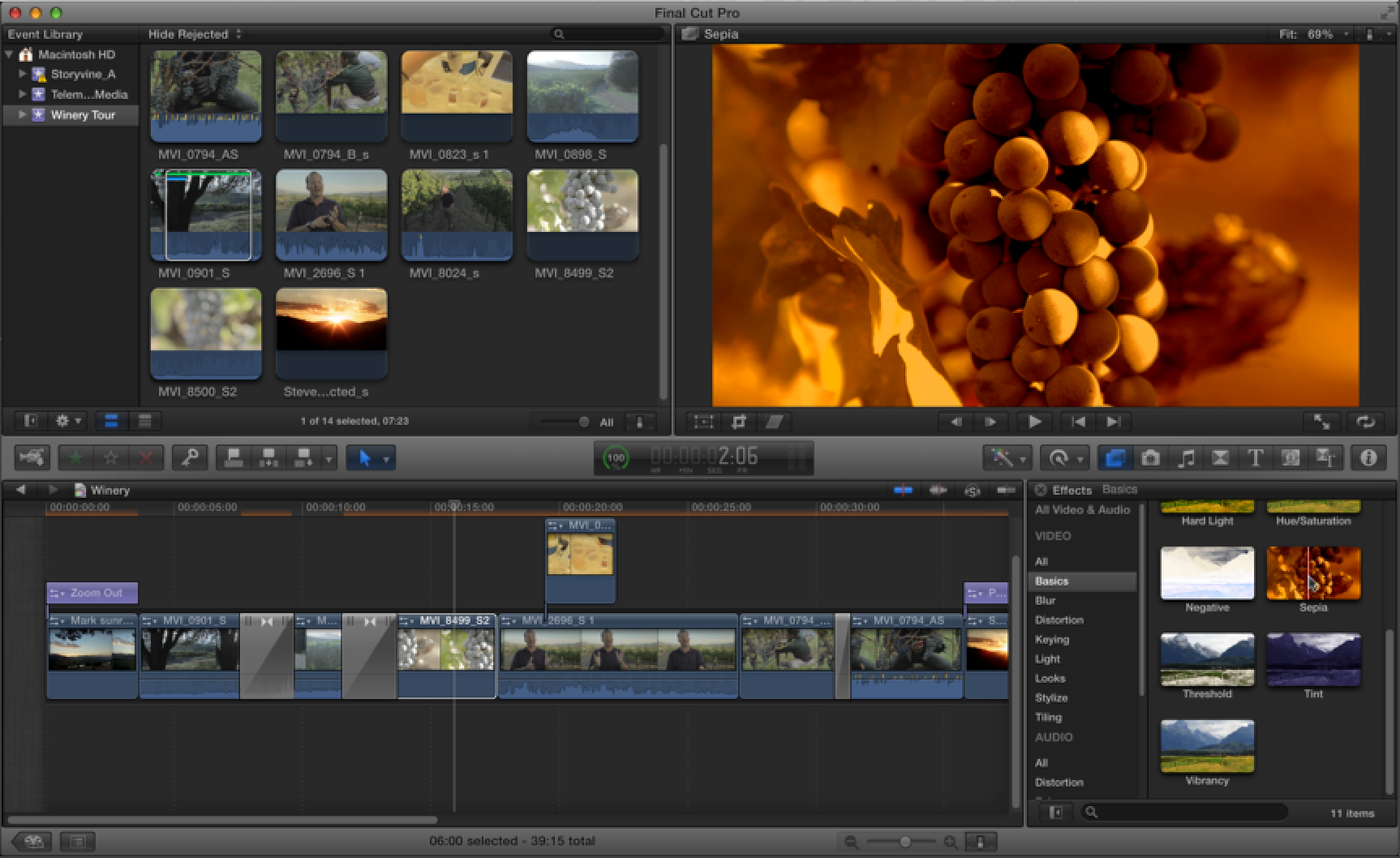 How to apply special effects to your videos in Final Cut Pro