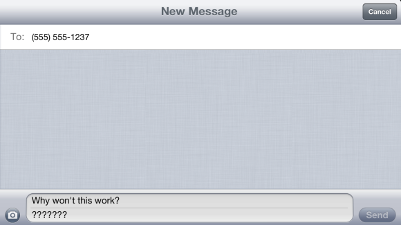 Bugs & Fixes: Texting fails for just one person | Macworld