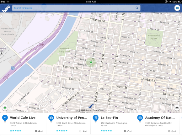 Hands on with Nokia's Here Maps for iOS | Macworld