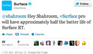 microsoft surface tweet