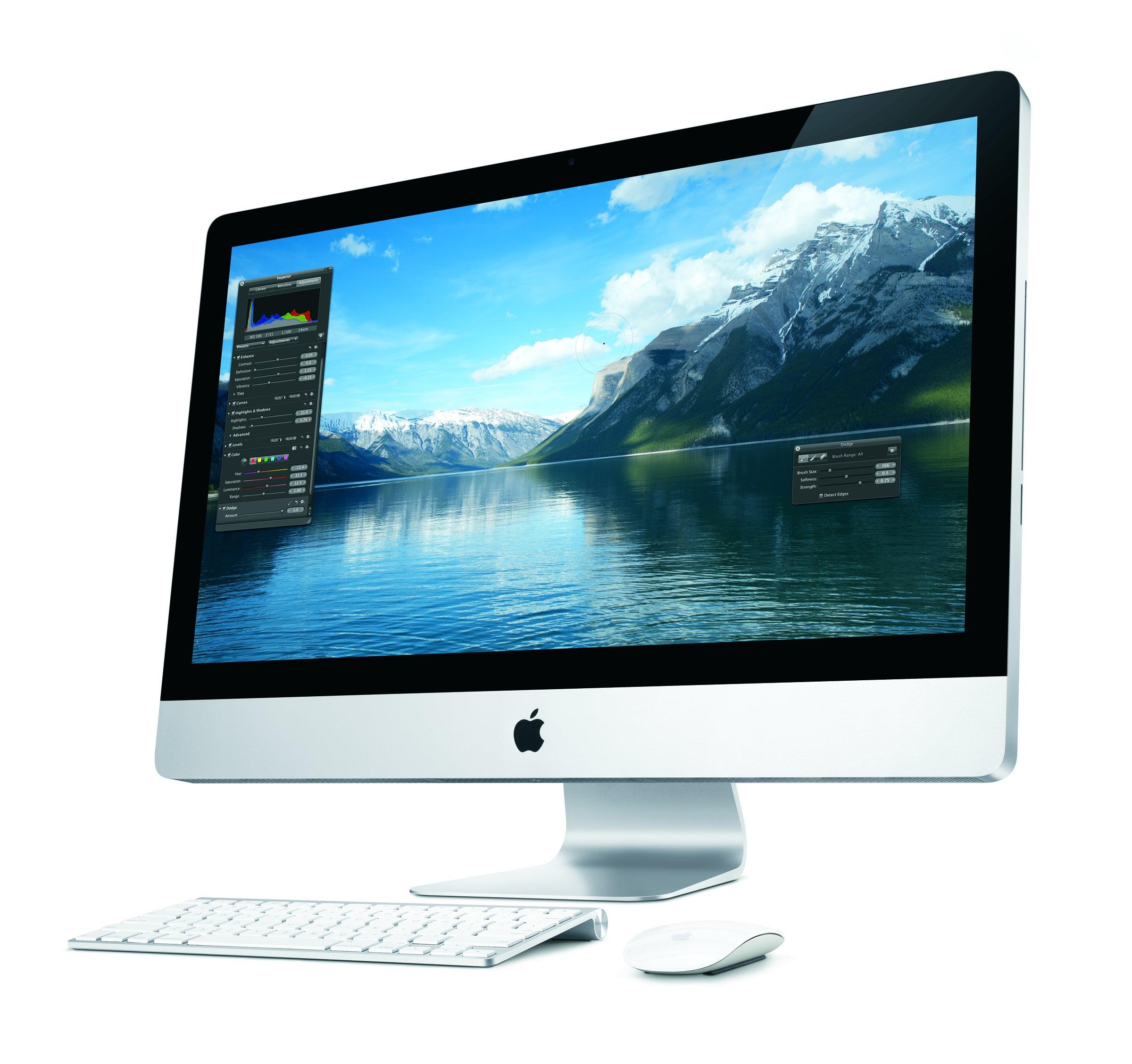 mac computer screen goes blue