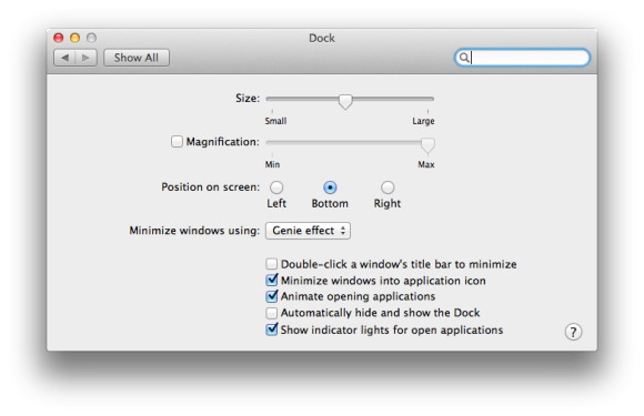 Mac 101 dealing with the dock macworld viewing dock preferences ccuart Image collections