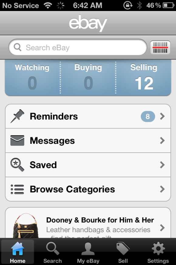 Review Sell Or Purchase Items On The Go With Ebay For Ios Macworld