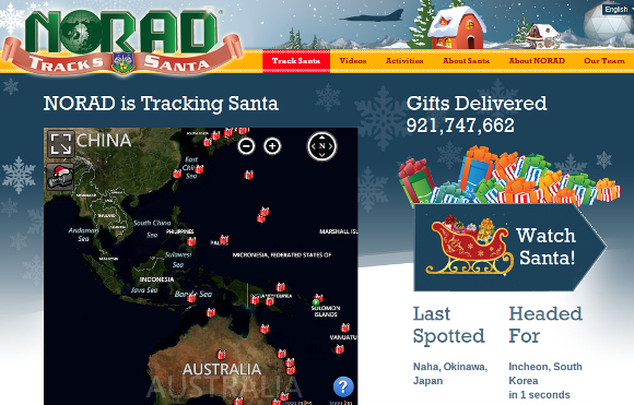 Track Santa Claus online on Christmas Eve 2012: A guide ... on track santa now map, santa fa on a usa map, snow tracker map, easter bunny tracker map, santa is real, bubble map, santa that tracks santatraker, santa county map, santa flying over a map, santa on crack, santa norad finder, santa tracker christmas eve, santa tracer com, santa map progress, google earth santa tracker map, santa movies, santa games, north pole map,