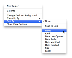 how to clean up folders on mac by name