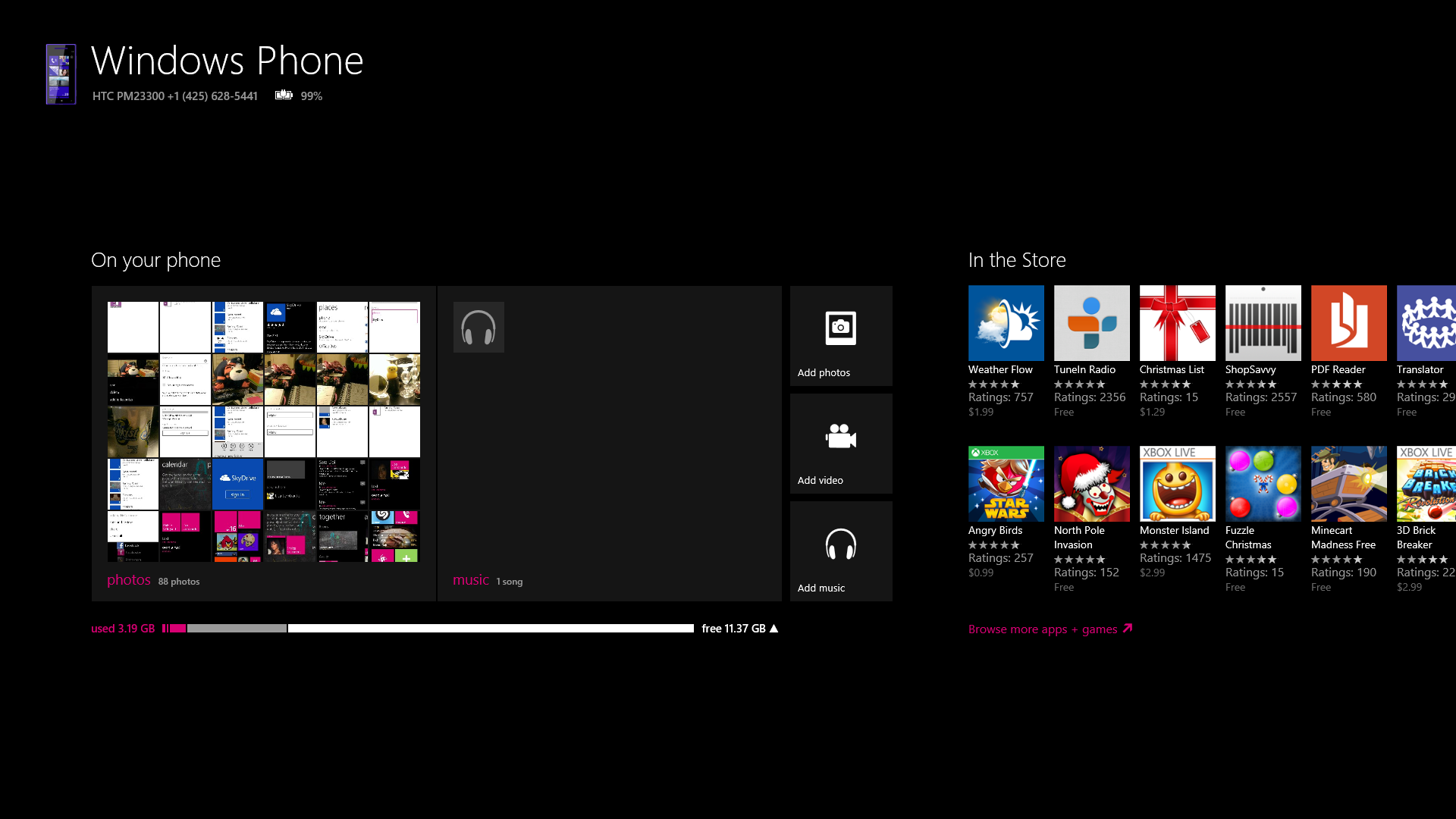 Stake7 App Windows Phone