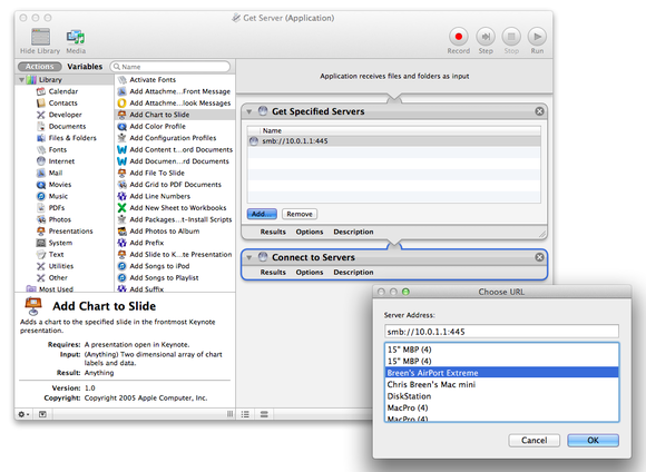 Automatically mount an AirPort-attached USB drive | Macworld