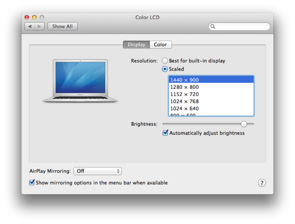 Sound and vision: The Sound and Displays system preferences | Macworld