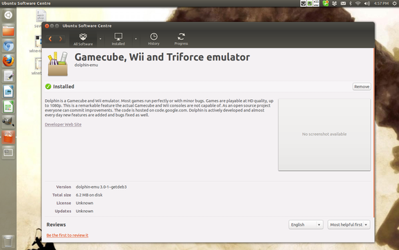 Dolphin emulator for Linux Wii Gamecube