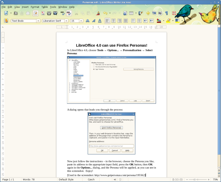 Six new features coming in LibreOffice 4 0 | PCWorld