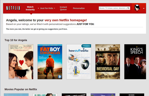 Netflix adds personalized profiles with recommendations for