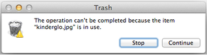 Mac Troubleshooting What To Do When The Trash Won T Empty