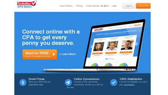 TurboTax CPA Select