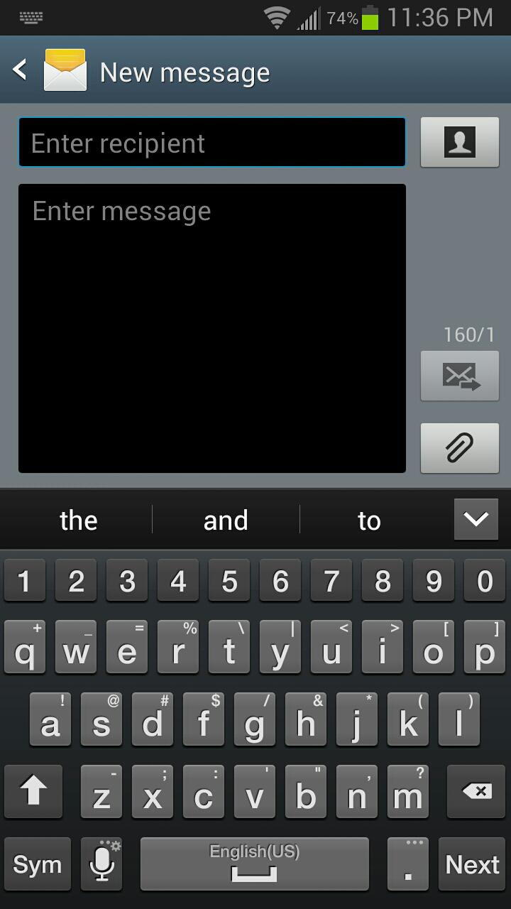 google voice app text message