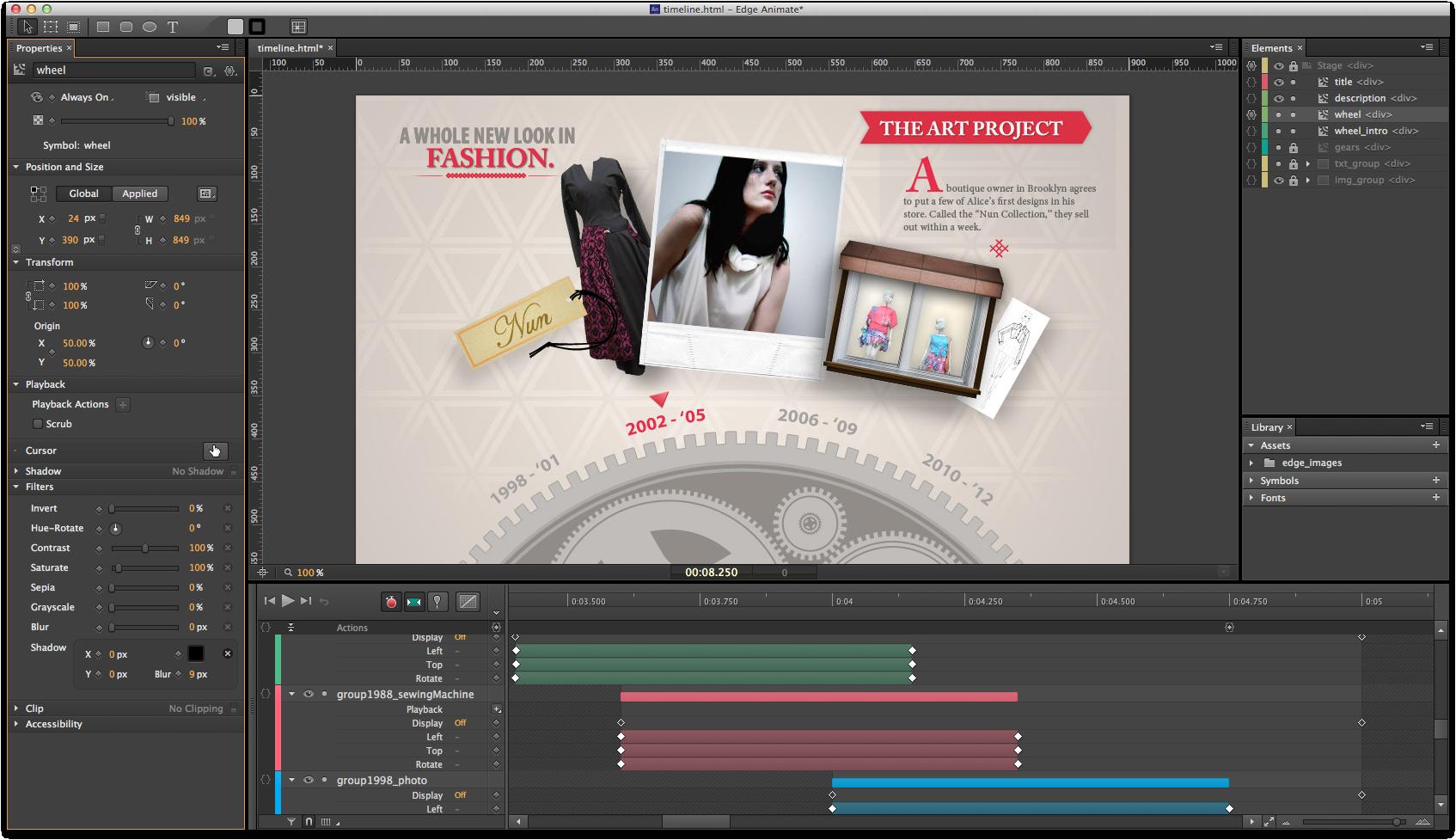 adobe website design tools