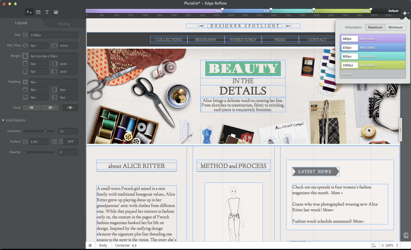 Adobe Launches First Public Preview Of Edge Reflow Web Design Tool Pcworld,Lehenga Blouse Designs Catalogue 2019