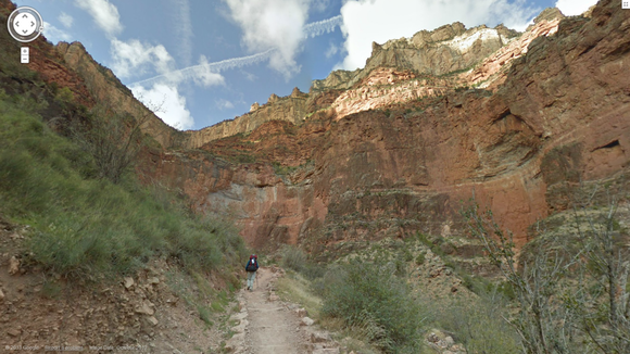 Google Street View Offers An Armchair Trek Of Grand Canyon Pcworld
