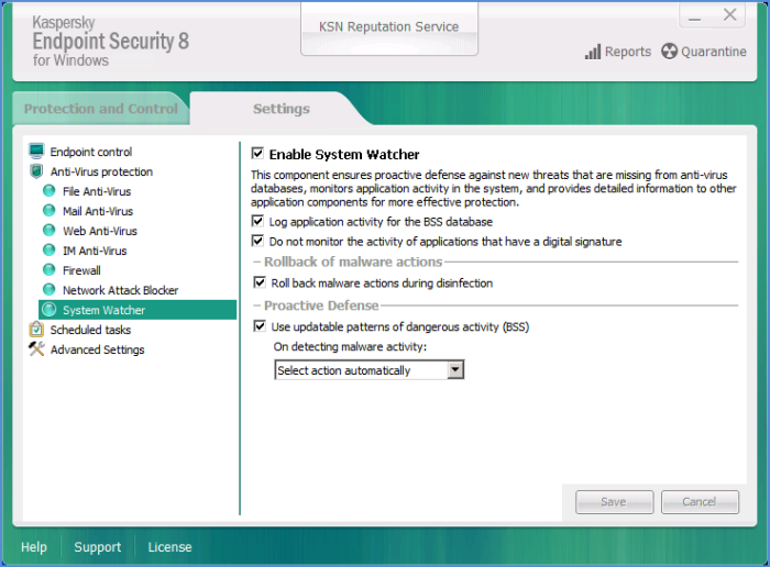 kaspersky endpoint security 10 for windows workstations component
