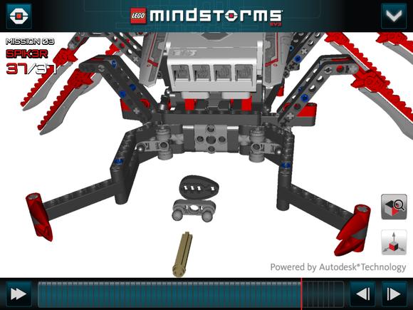 lego mini robot building instructions