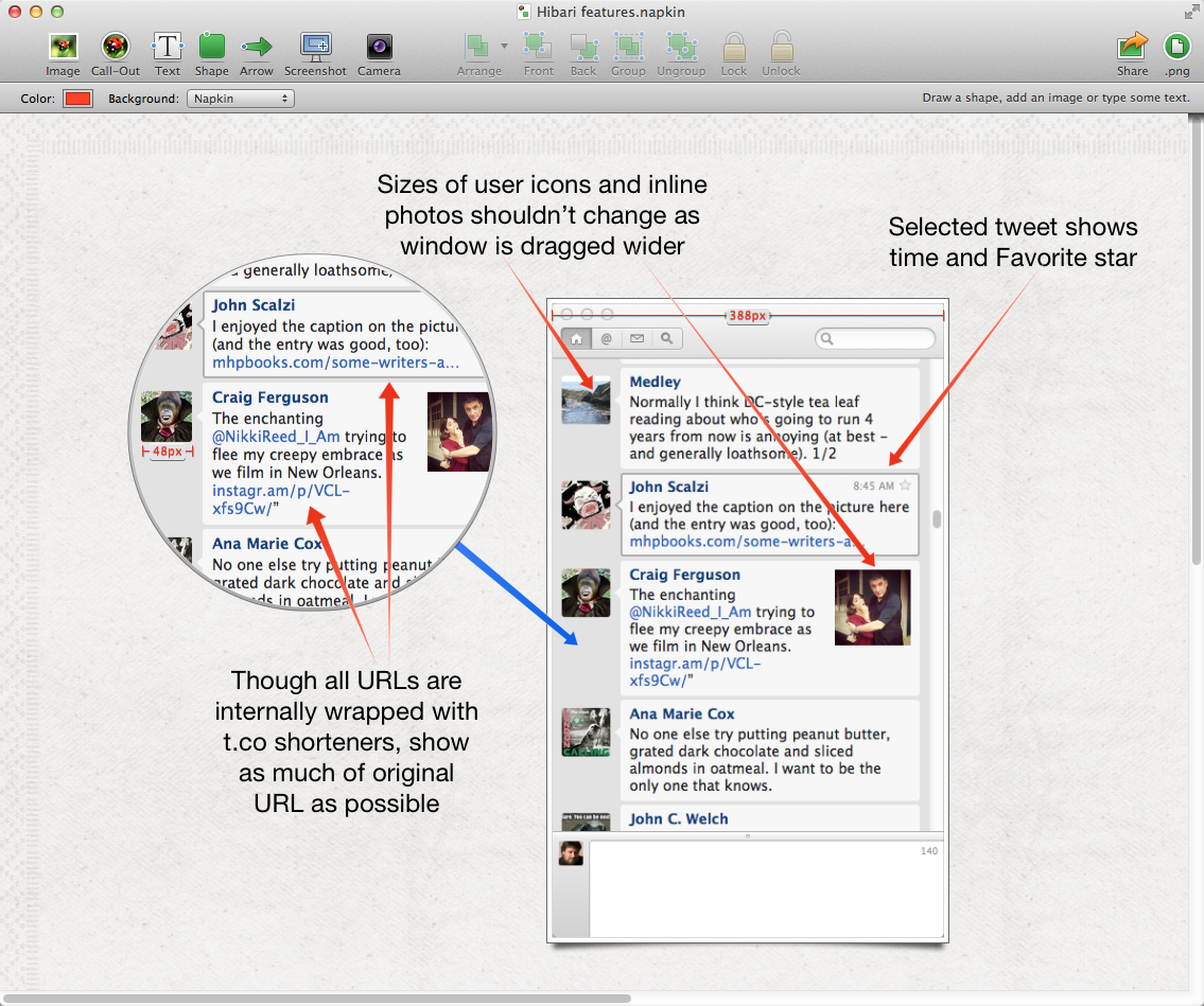 Review: Napkin a novel image annotation program with an