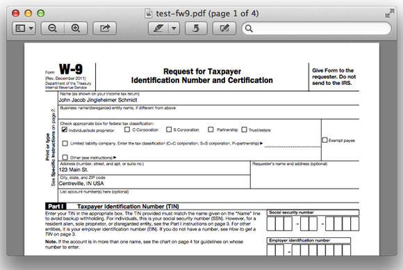 Solving The Mystery Of The Empty Pdf Form Macworld